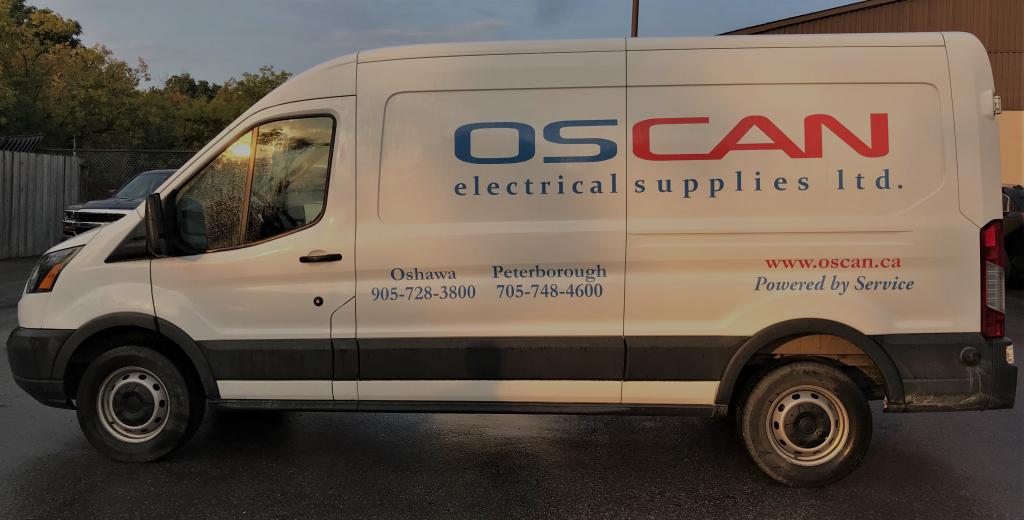 Oscan Electrical Supplies Van